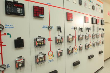 Control Relay Panels. (feeder/transformer Control)