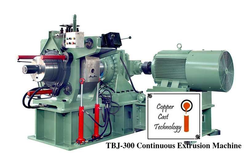 Copper Continuous Extrusion Line