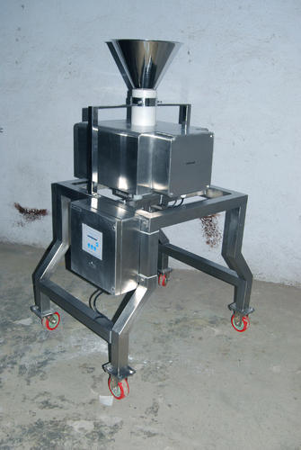 Gravity Feed Metal Detectors