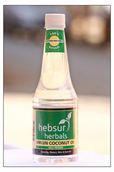 Hebsur Herbals Virgin Coconut Cold Pressed Oil