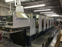 Komari Lithron Printing Machine