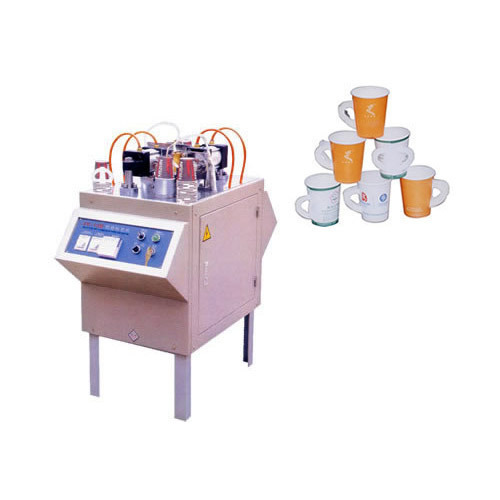 Paper Handle Affix Machine