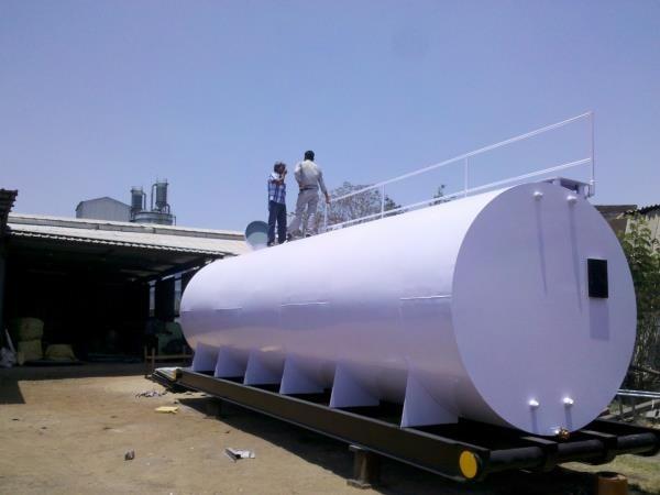 Portable 40 Kl Diesel Storage Tank