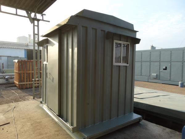 Portable Metal Cabin For Oil Field Use