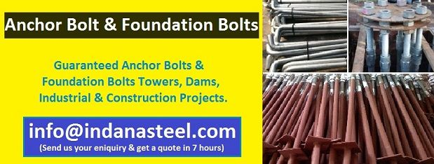 Anchor And Foundation Bolts