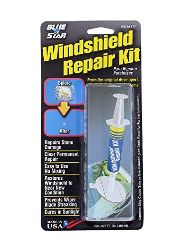 Blue-Star Fix your Windshield Do It Yourself Windshield Repair Kit