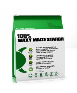 Bulk Powders Waxy Maize Starch 1 lb