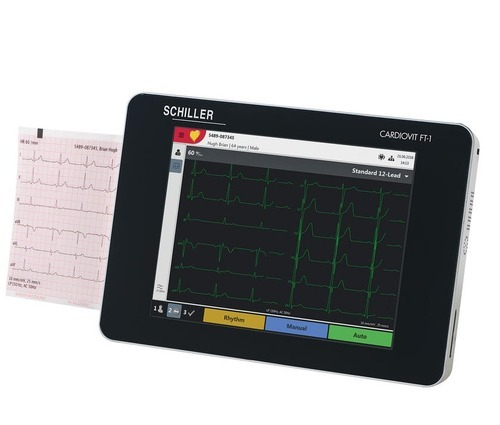 Cardiovit FT-1 12 Channel Touch Screen ECG Machine