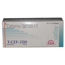 Cefixime 200mg Tablets