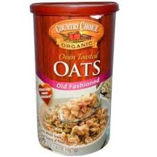 Country Choice Organic Over Toasted Oats, Old Fashioned