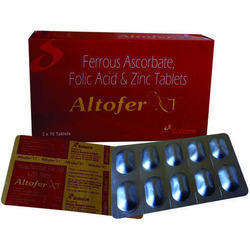 Elemental Iron Folic Acid And Zinc Tablets