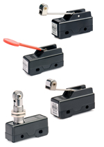 Fin Type Standard Micro Switch