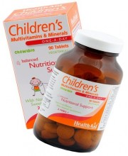 HealthAid Childrens MultiVitamins & Minerals