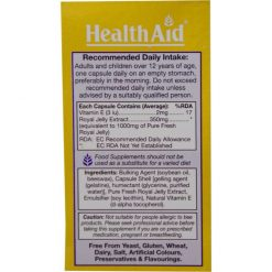 HealthAid Tang Forte (Royal Jelly 1000mg)