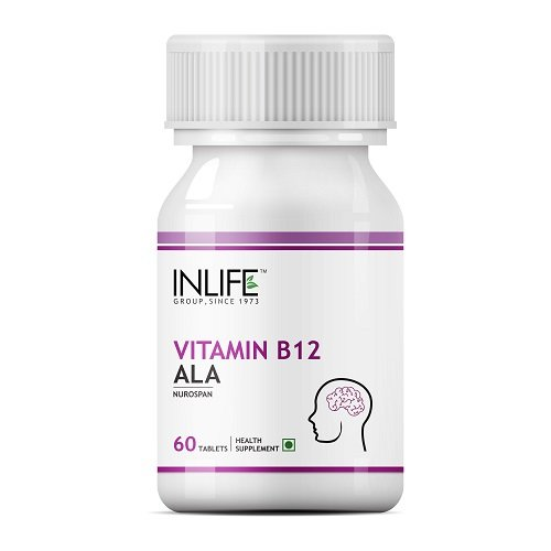 INLIFE Vitamin B12 ALA Supplement