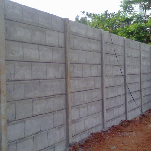 Precast Concrete Compound Wall