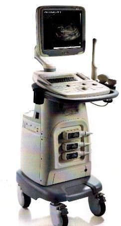 Trolly Ultrasound Systems B/W