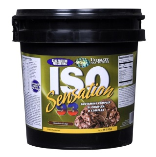 Ultimate Nutrition ISO Sensation 93, 5 lb Chocolate Fudge