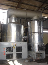 Wood Fired Thermic Fluid Heaters